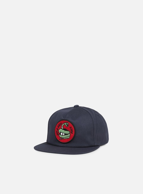 cappellini obey get a grip snapback navy