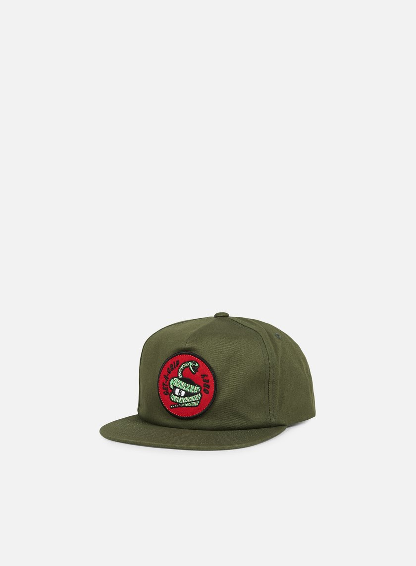 Obey - Get A Grip Snapback, Olive