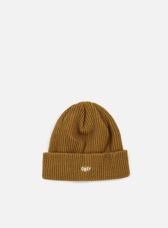 Obey - Hangman Beanie, Bone Brown