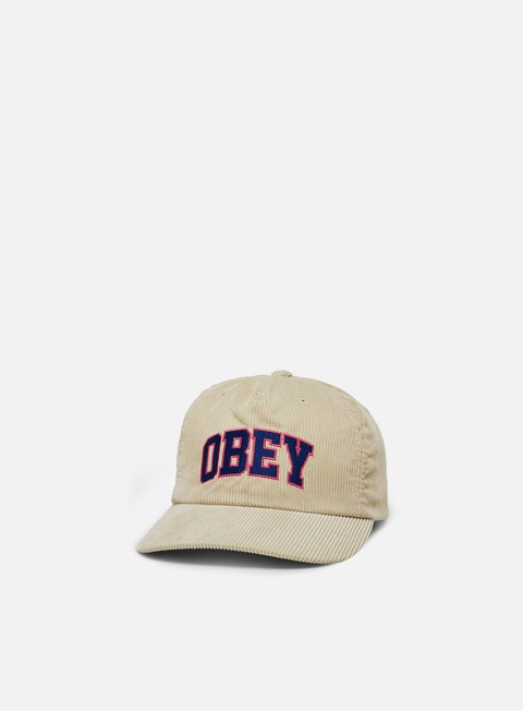 Curved Brim Caps Obey Higher Strapback