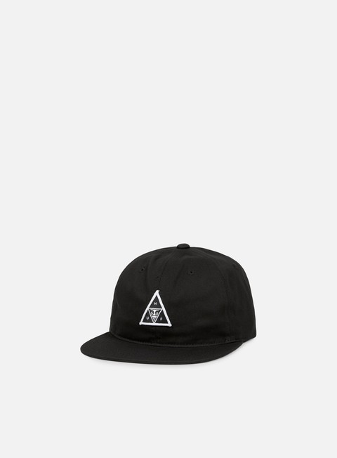 cappellini obey huf strapback hat black