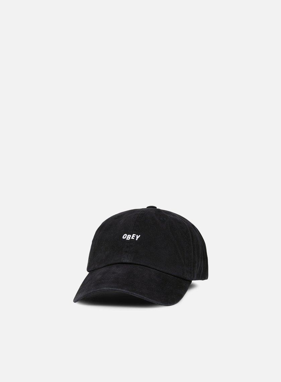 Obey - Jumble Bar 6 Panel Hat, Black