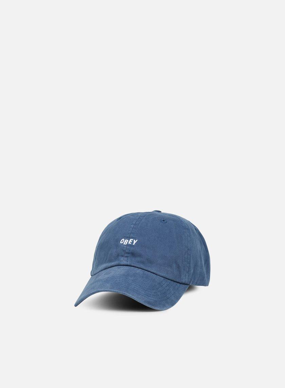Obey - Jumble Bar 6 Panel Hat, Navy
