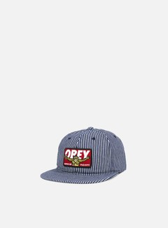 Obey - Kings Of The City Hat, Navy Hickory 1
