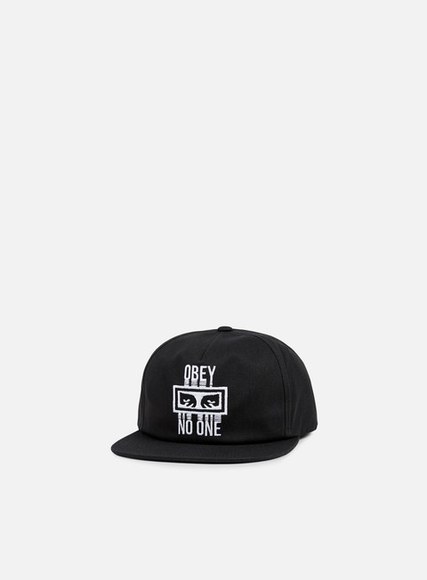 Sale Outlet Snapback Caps Obey Obey No One Snapback