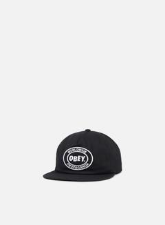 Obey Obey Oval Patch II Snapback Black