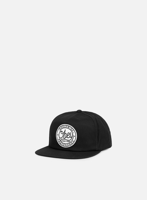 cappellini obey obey since 1989 snapback black