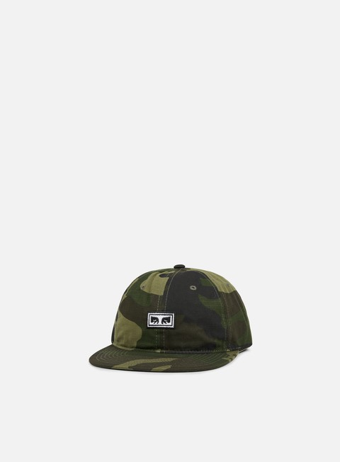 cappellini obey overthrow 6 panel snapback camo