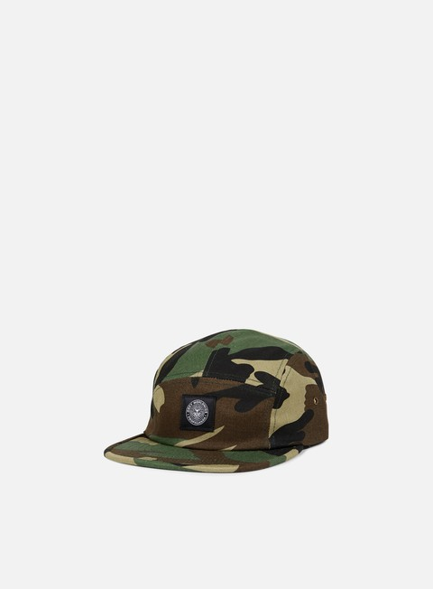 cappellini obey raid 5 panel hat field camo