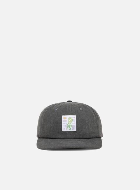 Curved Brim Caps Obey Rhythm 6 Panel Strapback Hat