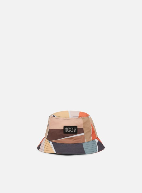 Outlet e Saldi Cappellini Bucket Obey Sherman Bucket Hat