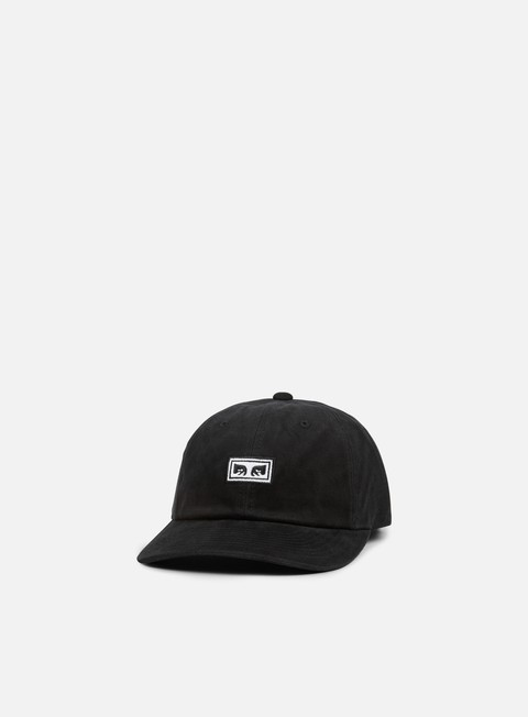 cappellini obey subversion 6 panel snapback black