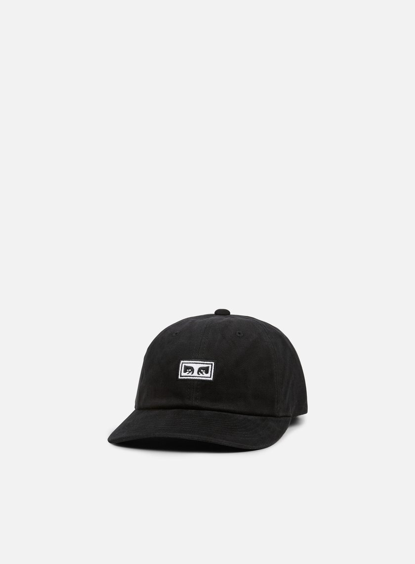 Obey - Subversion 6 Panel Snapback, Black