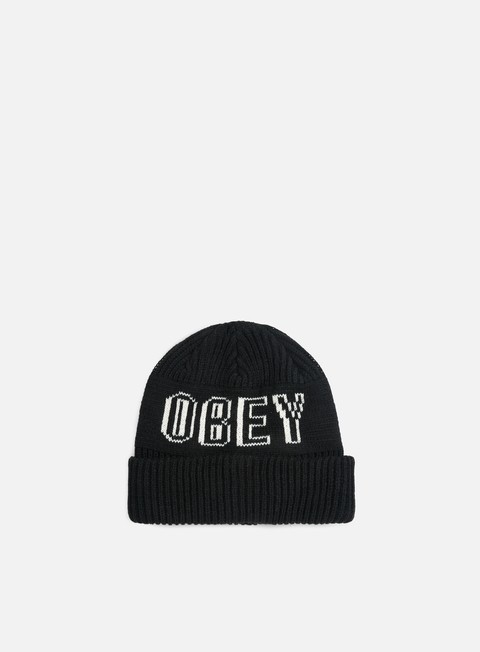 cappellini obey tailgate beanie black