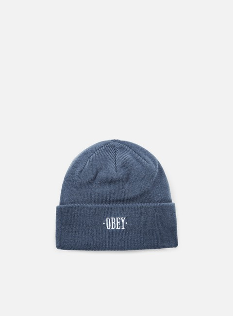 cappellini obey times beanie blue