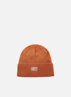 Obey - Times Beanie, Brick