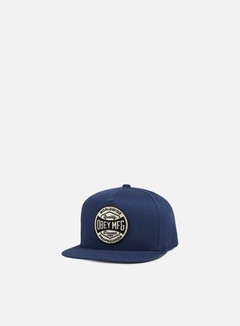 Obey - Worldwide Dissent Snapback, Navy