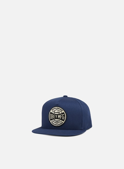 cappellini obey worldwide dissent snapback navy
