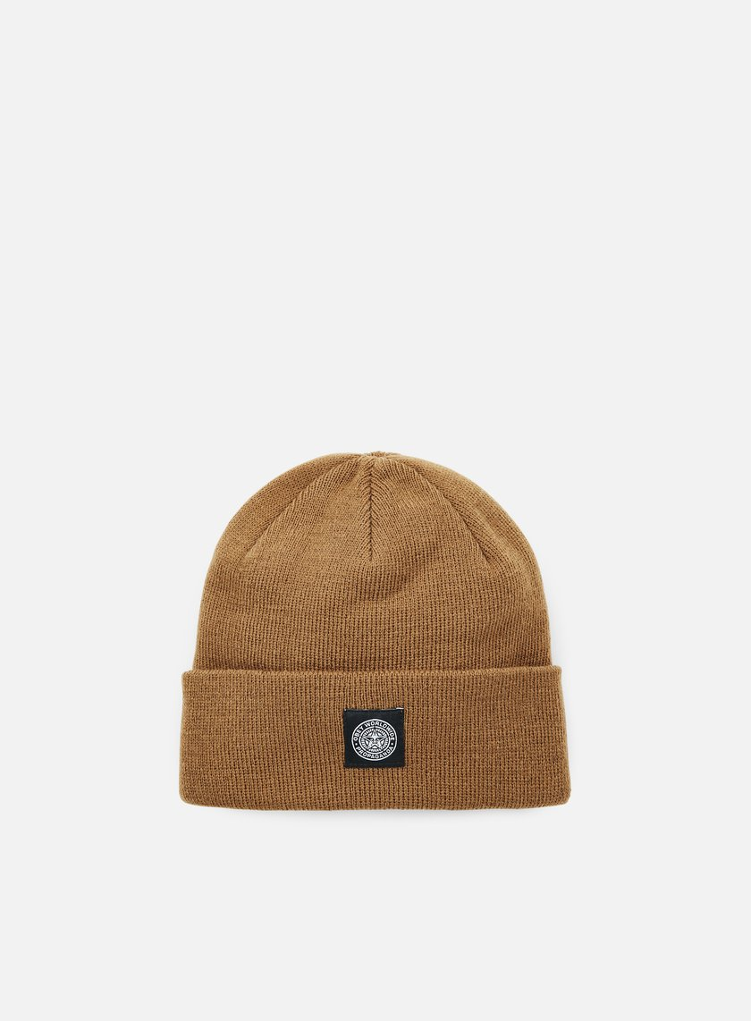 Obey - Worldwide Seal Beanie, Caramel