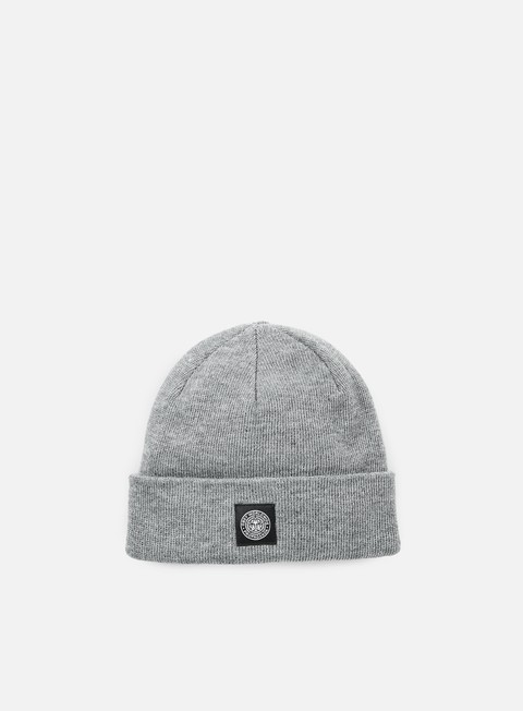 cappellini obey worldwide seal beanie heather grey