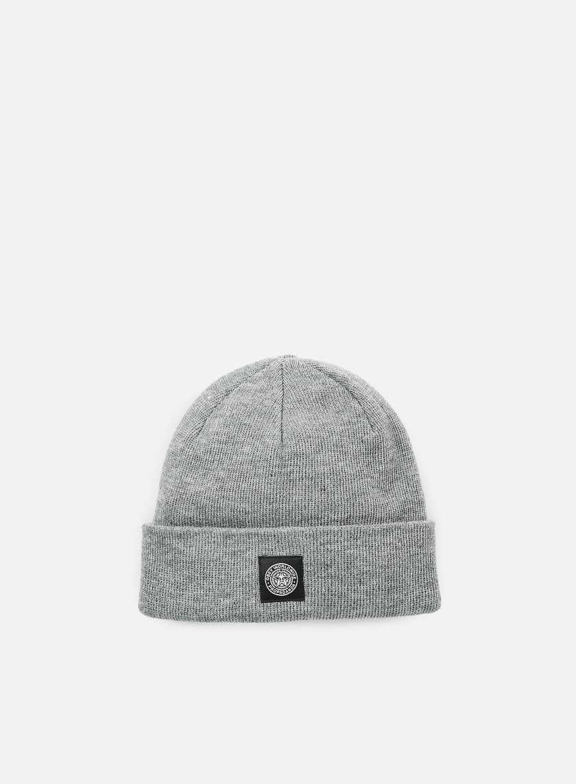 Obey - Worldwide Seal Beanie, Heather Grey