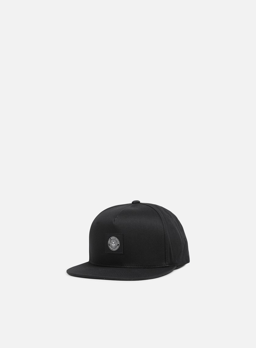 Obey - Worldwide Seal Snapback, Black