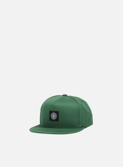 Obey - Worldwide Seal Snapback, Forest/Dark Navy