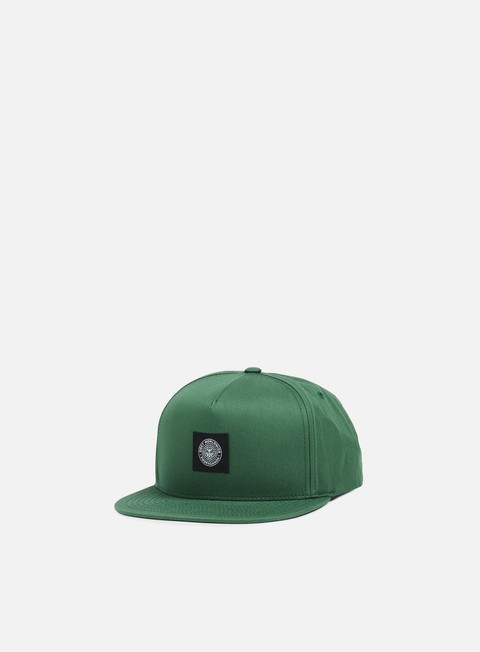 cappellini obey worldwide seal snapback forest dark navy