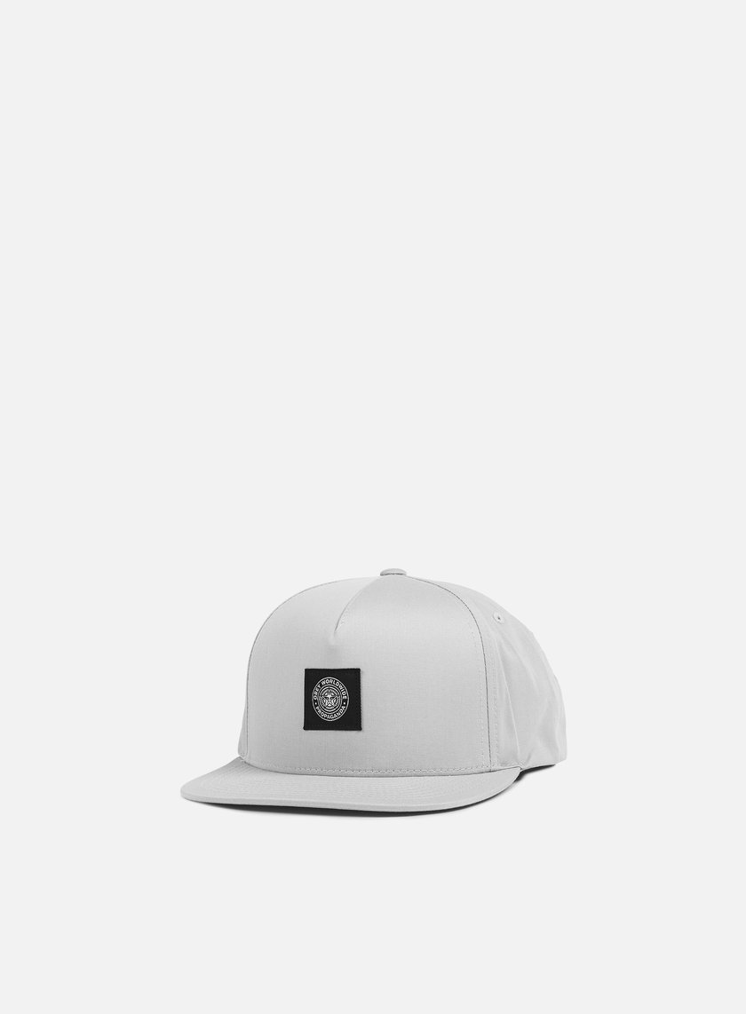 Obey - Worldwide Seal Snapback, Grey
