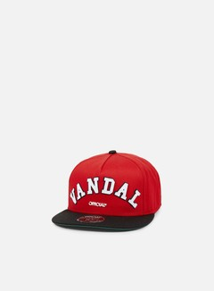 Official - Chiraq Vandal Snapback, Red 1