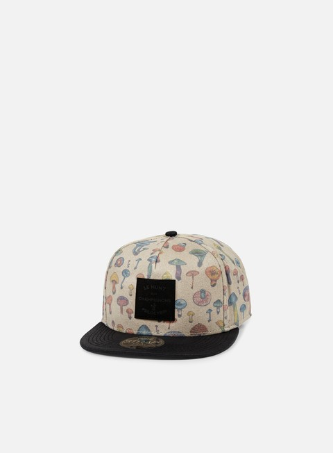 Outlet e Saldi Cappellini Snapback Official Mushroom Illustrated Strapback