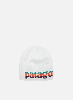 Patagonia - Beanie Hat, Logo Belwe Mini/Birch White