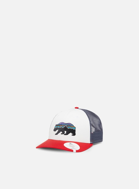 Outlet e Saldi Cappellini Snapback Patagonia Fitz Roy Bear Trucker Hat