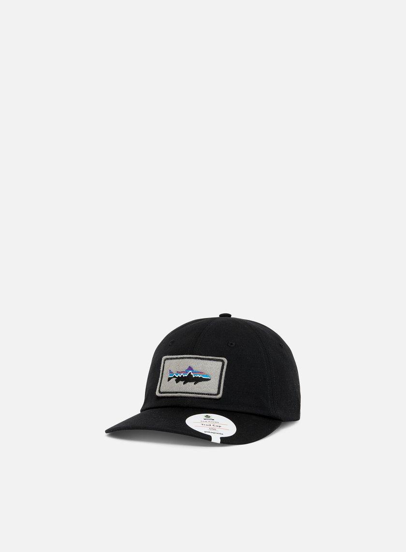 4284810bb851e PATAGONIA Fitz Roy Trout Patch Trad Cap € 29 Curved Brim Caps ...