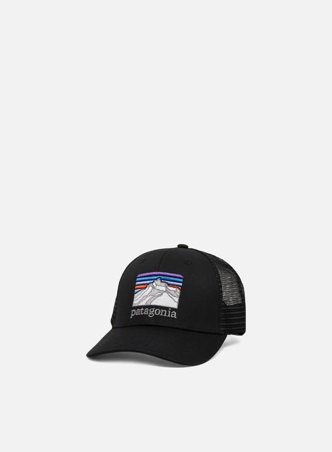 Curved Brim Caps Patagonia Line Logo Ridge LoPro Trucker Hat