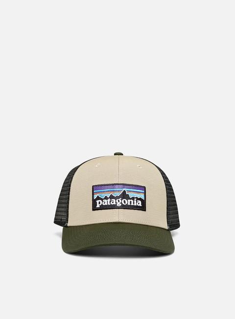 Cappellini Visiera Curva Patagonia P-6 Logo LoPro Trucker Hat