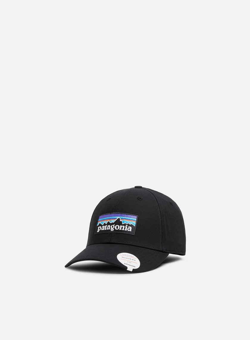 e5f968e26d36b PATAGONIA P-6 Logo Stretch Fit Hat € 35 Curved Brim Caps