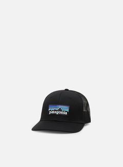 Patagonia - P-6 Logo Trucker Hat, Black
