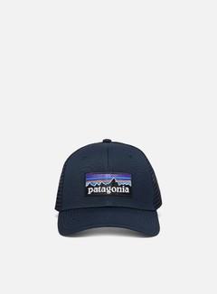 Patagonia - P-6 Logo Trucker Hat, Navy Blue