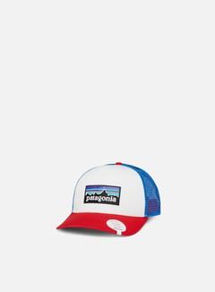 Patagonia - P-6 Logo Trucker Hat, White