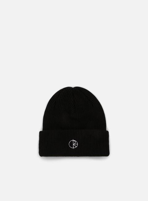 cappellini polar skate stroke logo beanie black