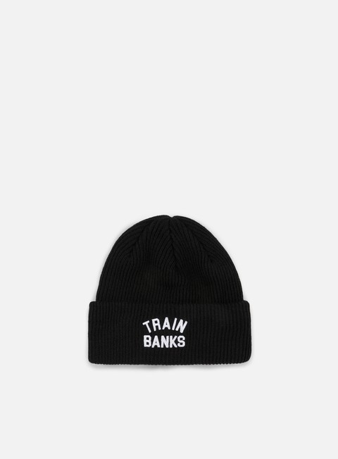 cappellini polar skate train banks beanie black