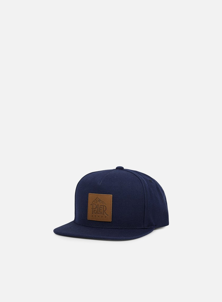 Poler - Lifty Snapback, Blue Steel