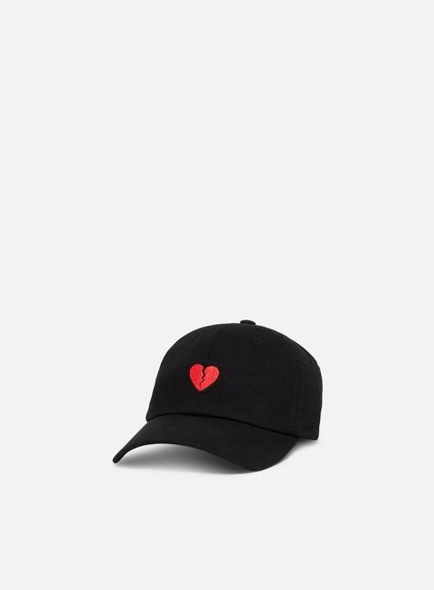 Brim caps Primitive Heartbreakers Club Amor Dad Hat