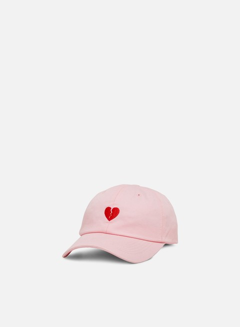 Cappellini Visiera Curva Primitive Heartbreakers Club Amor Dad Hat