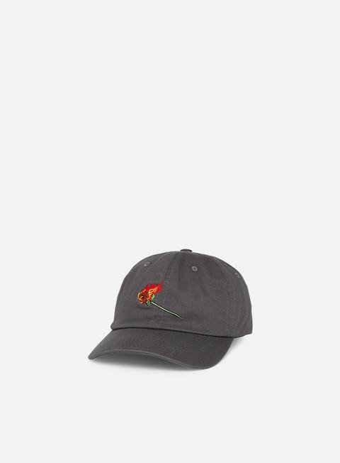 Brim caps Primitive Heartbreakers Club Burning Dad Hat