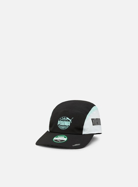 cappellini puma diamond retro cap puma black