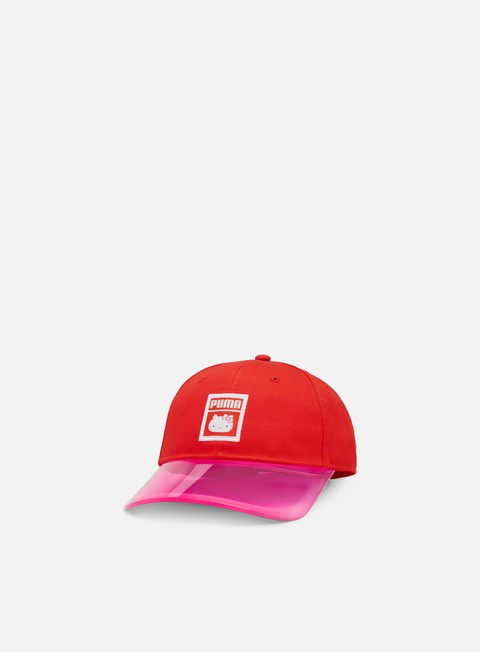 Curved Brim Caps Puma Hello Kitty Cap