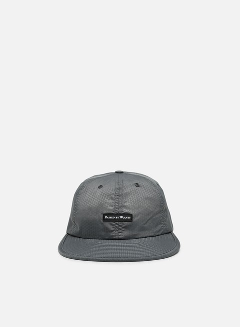 5 Panel Caps Raised by Wolves Hex Ripstop 6 Panel