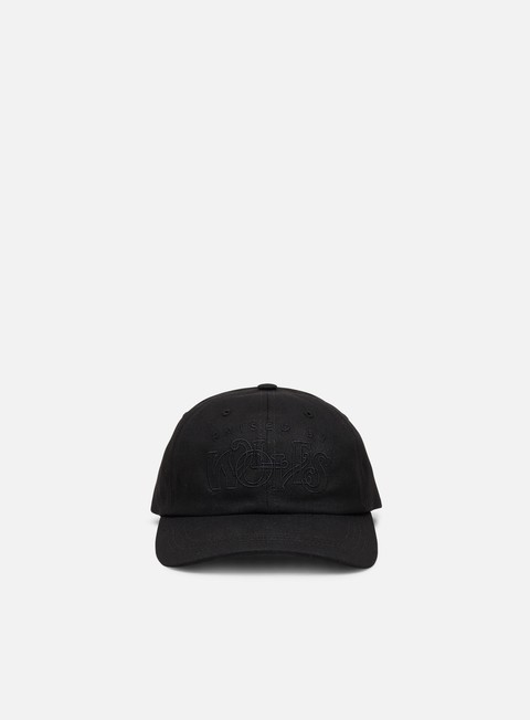 Outlet e Saldi Cappellini Visiera Curva Raised by Wolves Menthol Dad Cap